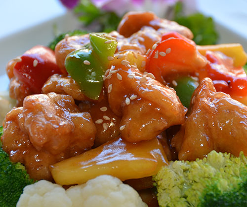 M4. Sweet & Sour Sesame Soy Protein